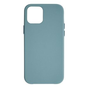 JCPal iGuard Moda Case for iPhone 12 mini 5G Leather Style Slim Shell Cerulean Blue