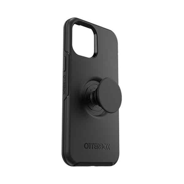 OtterBox Otter+Pop Symmetry Series Case for iPhone 12 Pro Max 5G Black