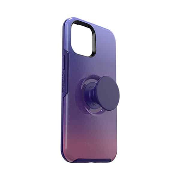 OtterBox Otter+Pop Symmetry Series Case for iPhone 12 Pro Max 5G Violet Dusk