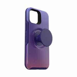 OtterBox Otter+Pop Symmetry Series Case for iPhone 12 mini 5G Violet Dusk