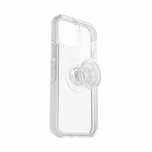 OtterBox Otter+Pop Symmetry Series Clear Case for iPhone 12 5G/iPhone 12 Pro 5G Clear