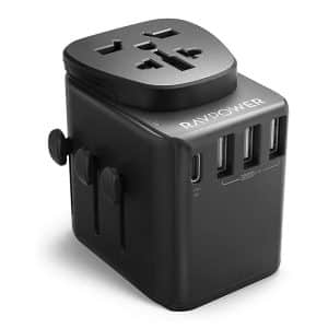 RAVPower Diplomat 30W 4-Port Travel Charger RP-PC099 - Black