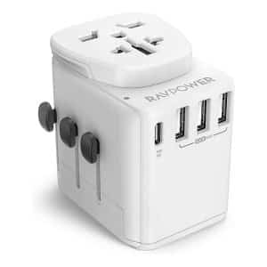 RAVPower Diplomat 30W 4-Port Travel Charger RP-PC099 - White