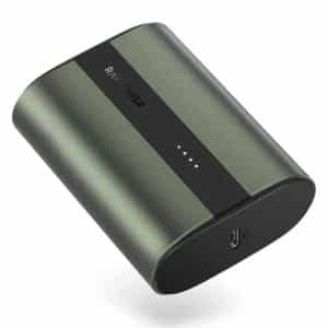 RAVPower Mini Power Bank 10000mAh PD & QC 2-Port 18W RP-PB197 – Metallic Midnight Green