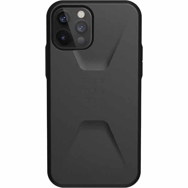 UAG Civilian Series Case for iPhone 12 5G/iPhone 12 Pro 5G Black