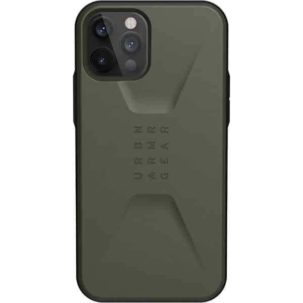 UAG Civilian Series Case for iPhone 12 5G/iPhone 12 Pro 5G Olive