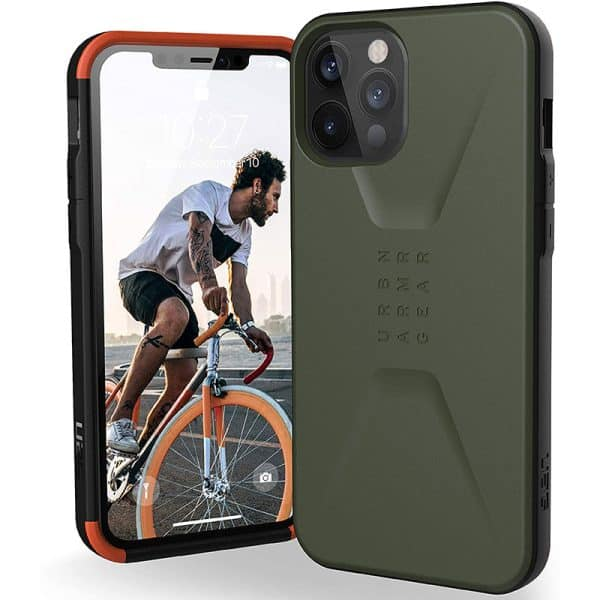 UAG Civilian Series Case for iPhone 12 Pro Max 5G Olive