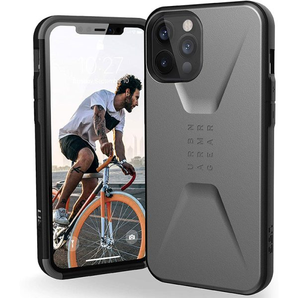 UAG Civilian Series Case for iPhone 12 Pro Max 5G Silver