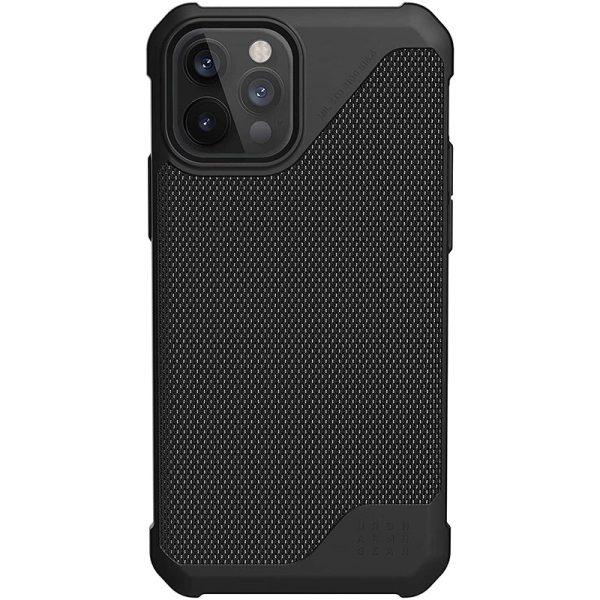 UAG Metropolis LT Series Case for iPhone 12 5G/iPhone 12 Pro 5G Kevlar Black