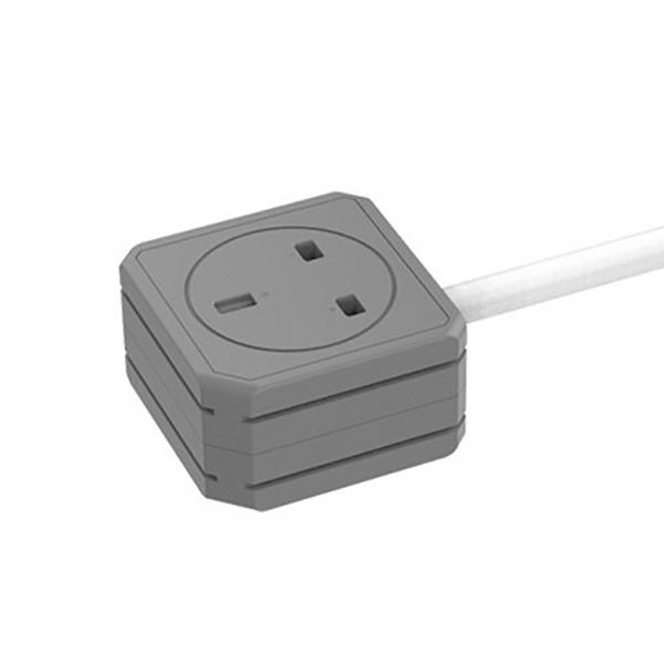 Allocacoc PowerExtension DUO 2 Power Outlets with 5m Cable UK