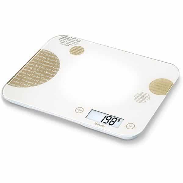 Beurer Cream Design Kitchen Scale KS 48