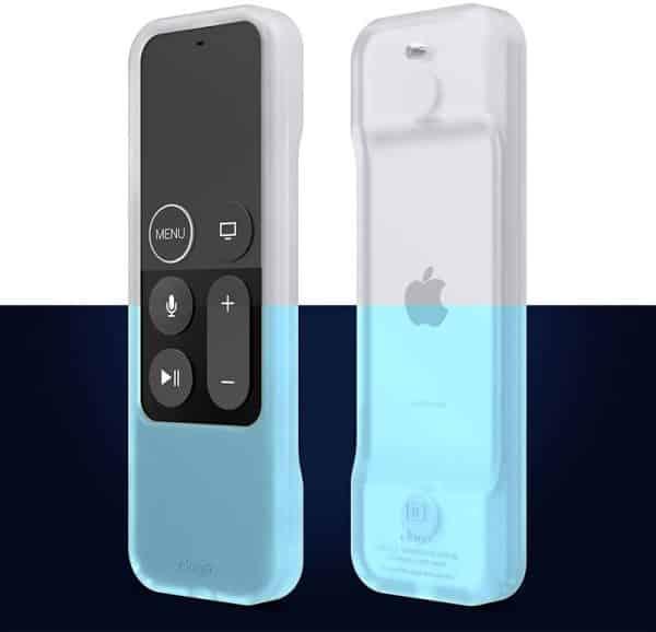 Elago R1 Intelli Case for Apple TV Siri Remote Nightglow Blue
