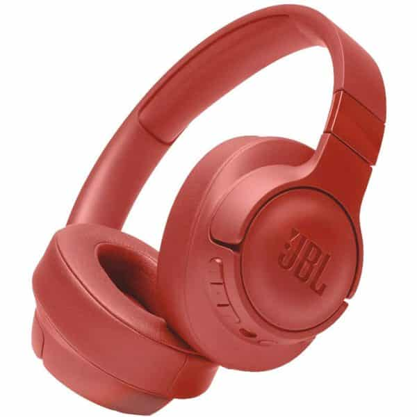 JBL T750 Over-Ear Noise Cancelling Wireless Headphone Coral