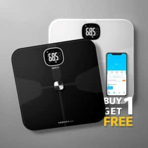 MOMAX HeaIth Tracker IoT Body Scale Buy 1 Get 1 Free Offer