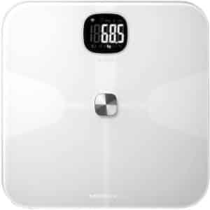 MOMAX HeaIth Tracker IoT Body Scale White
