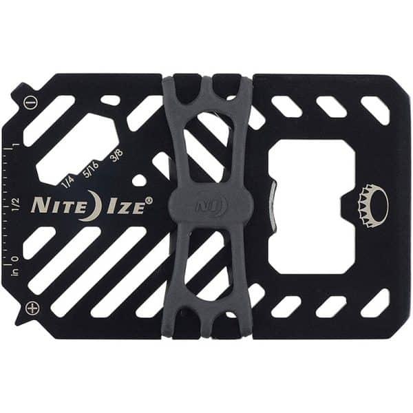 NiteIze Financial Tool Multi Tool Wallet FMT2-01-R7 Black