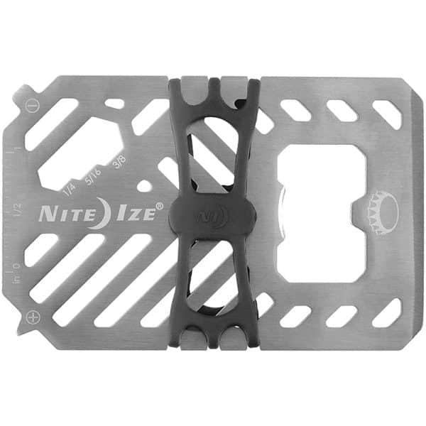 NiteIze Financial Tool Multi Tool Wallet FMT2-11-R7 Stainless