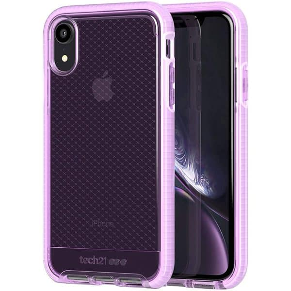Tech21 Evo Check Case for iPhone XR Orchid