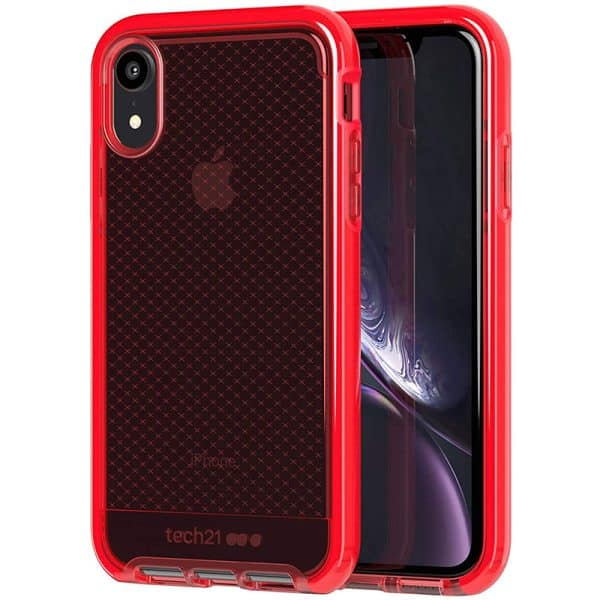 Tech21 Evo Check Case for iPhone XR Rouge
