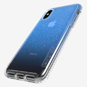 Tech21 Pure Shimmer Case for iPhone X/Xs Blue