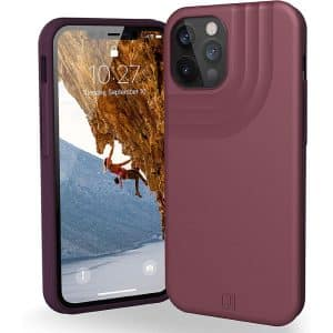UAG Anchor Series Case for iPhone 12 Pro Max 5G Matte Aubergine
