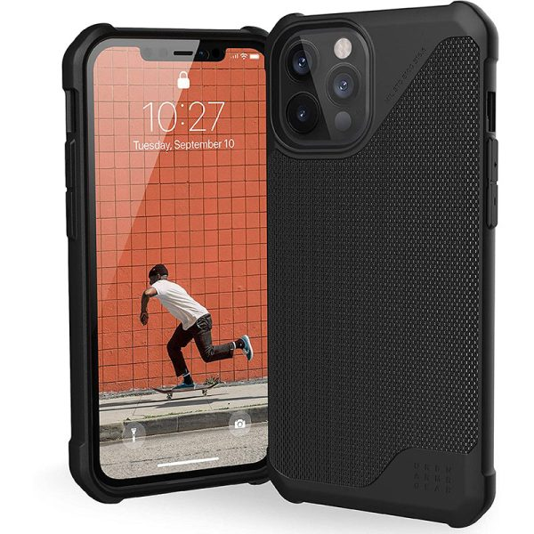 UAG Metropolis LT Series Case for iPhone 12 Pro Max 5G Kevlar Black