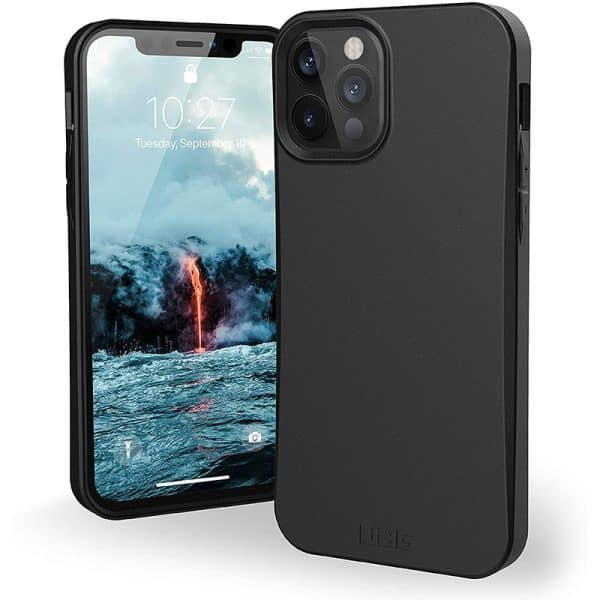 UAG Outback Bio Series Case for iPhone 12 5G/iPhone 12 Pro 5G Black