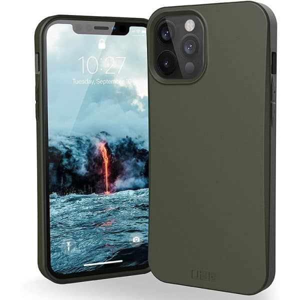 UAG Outback Bio Series Case for iPhone 12 Pro Max 5G Olive