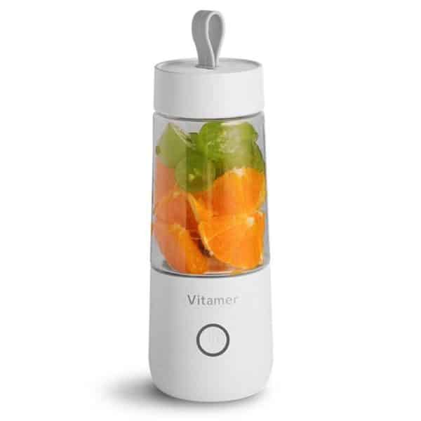 Vitamer Mini Portable Fruit Juicer 350ml White