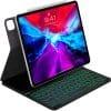 iWALK Crazy Smart Folio Magic Keyboard for iPad Pro 12.9-Inch Black