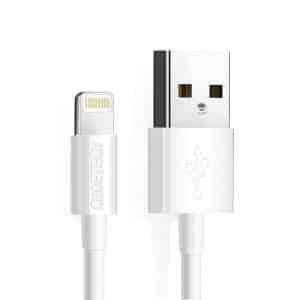 CHOETECH USB-A to Lightning MFi Certified Cable 1.2m 4ft White