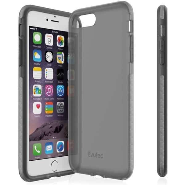Evutec Selenium Case for iPhone 8 Plus/iPhone 7 Plus Smoke