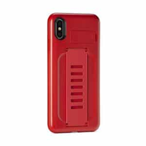 Grip2u BOOST Case with Kickstand for iPhone XS Max Ruby