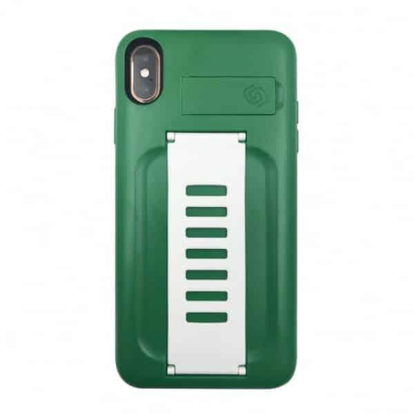 Grip2u BOOST Case with Kickstand for iPhone XS Max Saudi Green