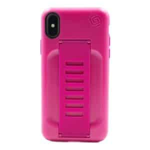Grip2u BOOST Case with Kickstand for iPhone XS/X - Pitaya