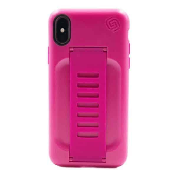 Grip2u BOOST Case with Kickstand for iPhone XS/X - Pitaya
