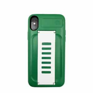 Grip2u BOOST Case with Kickstand for iPhone XS/X - Saudi Green
