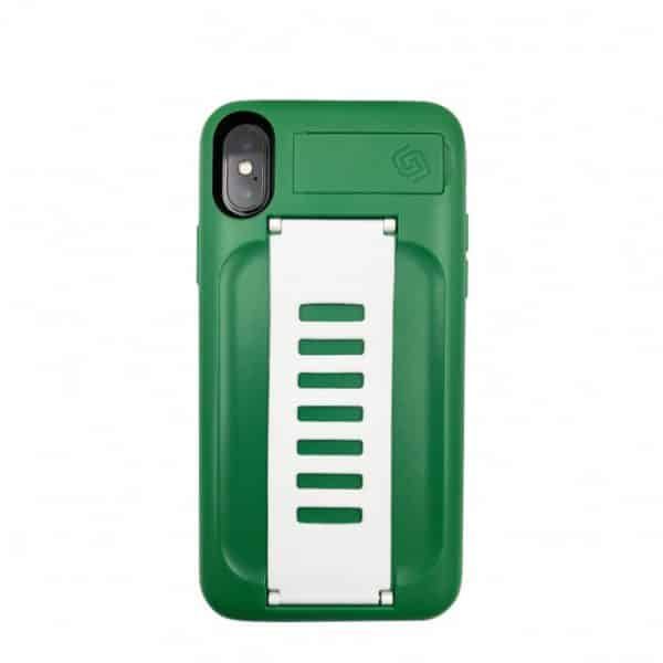 Grip2u BOOST Case with Kickstand for iPhone XS/X - Saudi Green