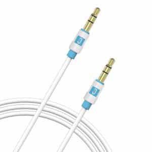 JUKU 3.5mm Audio Auxillary Cable 1.5M White