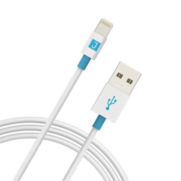JUKU Charge & Sync Cable with Lightning Connector White