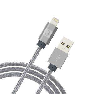 JUKU XL Lightning Charge & Sync Cable 3M Metallic Space Gray