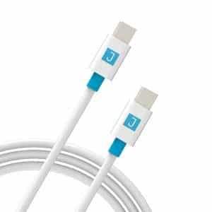 JUKU USB-C to USB-C Charge & Sync Cable 2M White