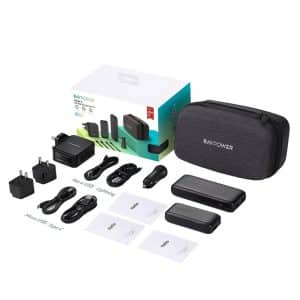 RAVPower 10-in-1 Portable Charger Combo RP-PB182 Black