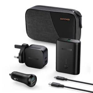 RAVPower 5-in-1 PD Pioneer Power Bank Combo RP-PB200 Black