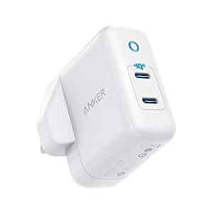 Anker PowerPort III 2-Ports USB-C Power Adapter White