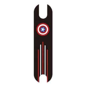 Anti-Skid Sticker Foot Mat With Cartoon for Xiaomi Electric Scooter - Captain America
