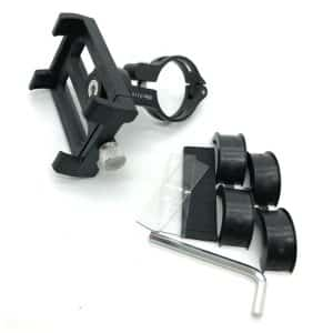 Bicycle/Bike Metal Phone Holder/Mount for Xiaomi Electric Scooter Black