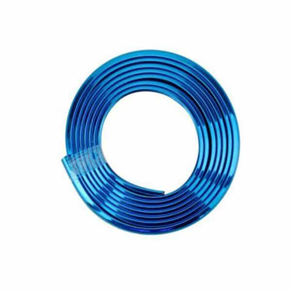 Bumper Strip Anti-Collision Body Protective Tape for Xiaomi Electric Scooter Blue