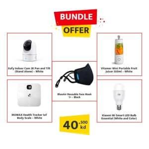 Electro Kuwait Bundle Offer(Eufy+Momax+BlueAir+Xiaomi+Vitamer)