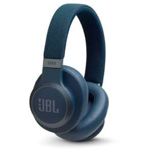 JBL LIVE 650BTNC Around-Ear Wireless Headphone with Noise Cancellation Blue